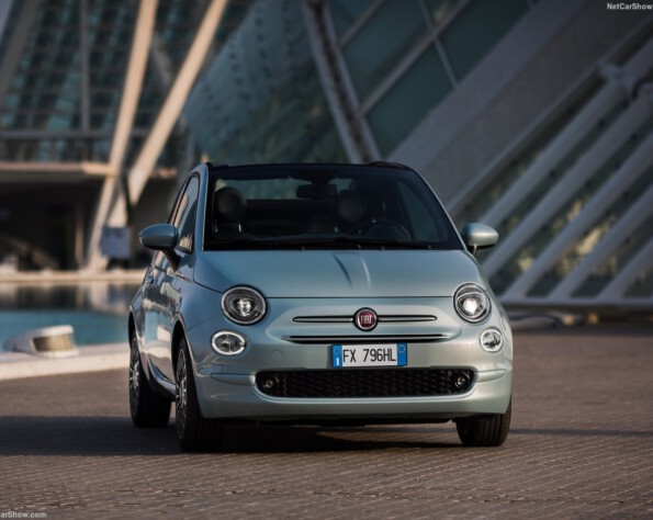 Fiat 500 lease voorkant
