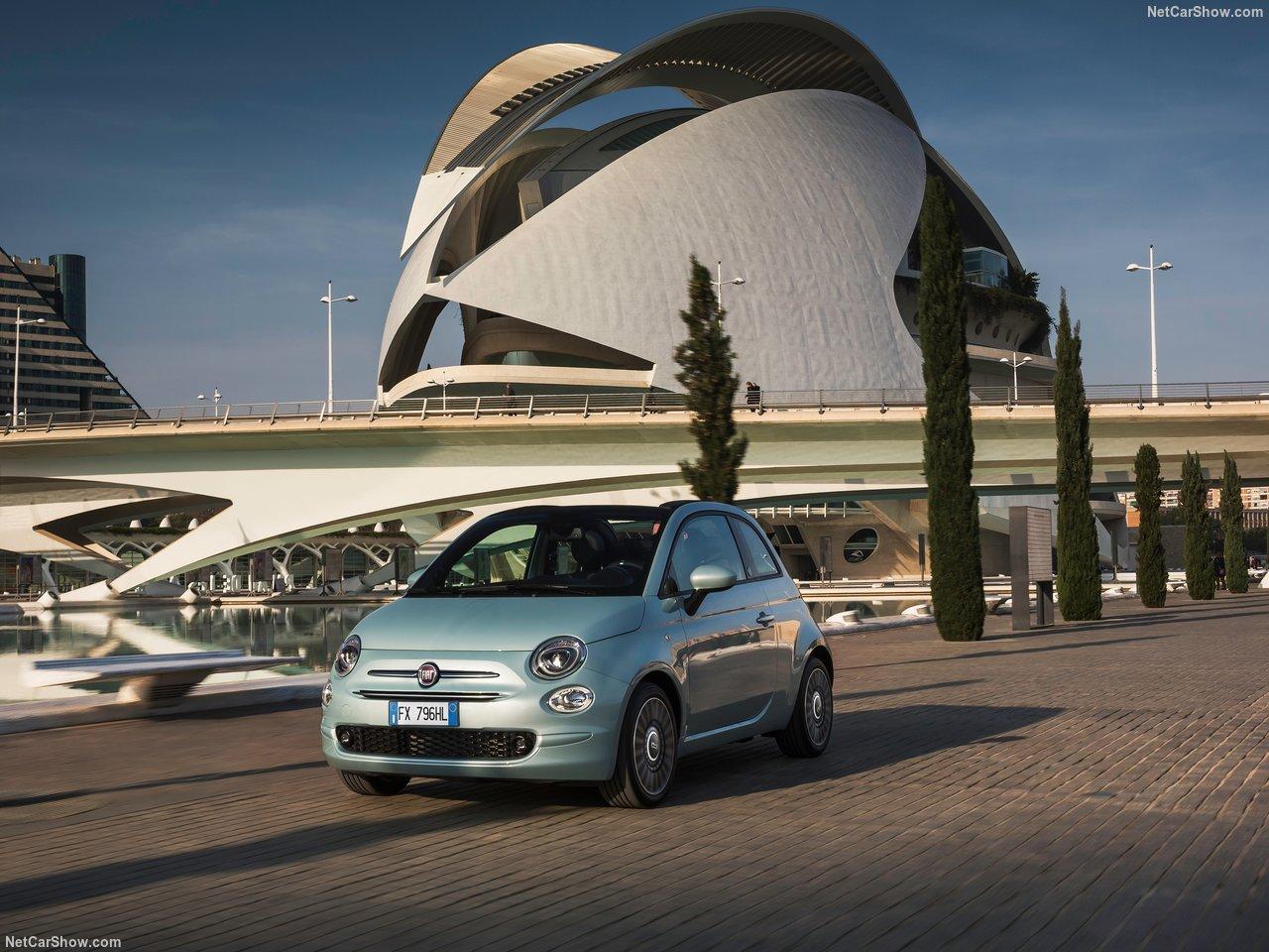 Fiat 500 lease zijkant