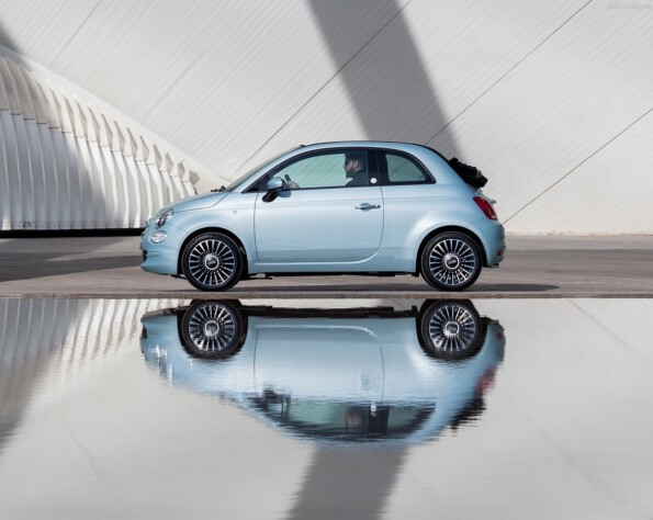 Fiat 500 zijkant