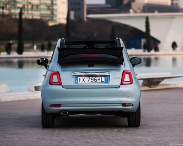 Fiat 500C achterkant