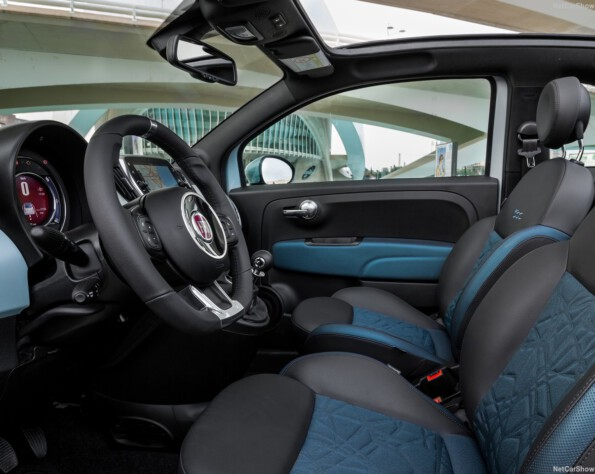 Fiat 500 lease stoelen