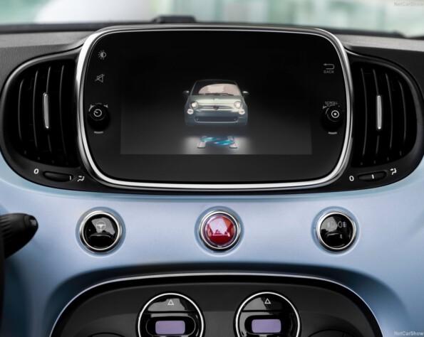 Fiat 500 navigatie
