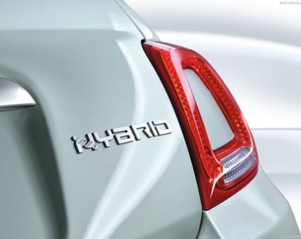 Fiat 500 Hybrid Sign