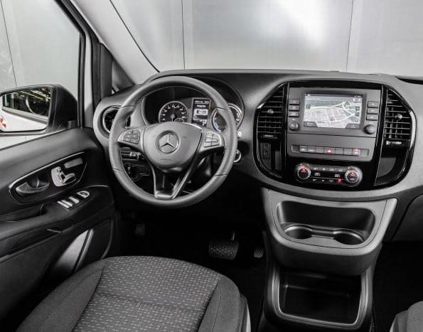 Interieur Mercedes-Benz eVito lease