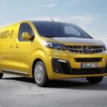 Opel Vivaro-e lease rechtsvoor
