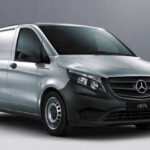 Voorkant Mercedes-Benz eVito lease