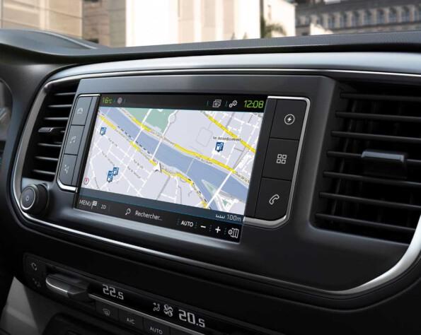 Navigatiesysteem Peugeot e-Expert lease
