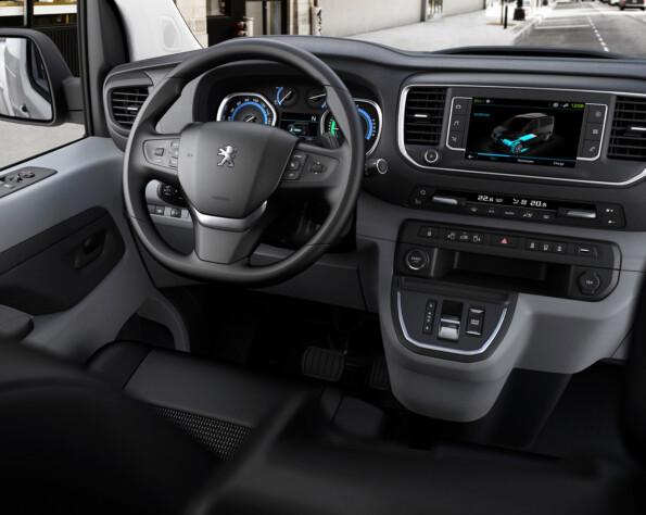 Interieur Peugeot e-Expert lease