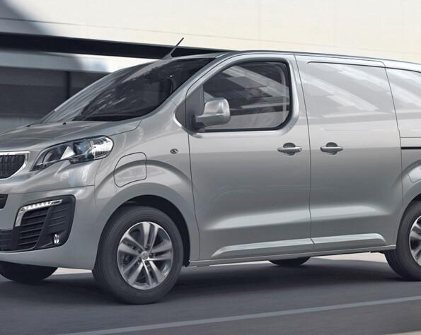 Peugeot e-Expert lease rechtsvoor