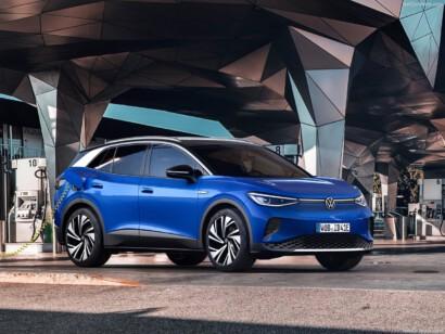 Volkswagen ID.4 lease elektrisch laden