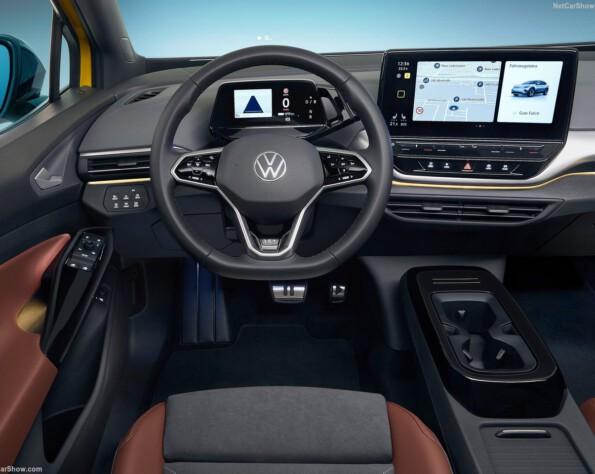 Interieur Volkswagen ID.4 lease