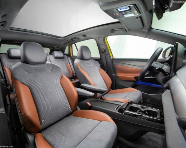 Voorstoelen interieur Volkswagen ID.4 lease