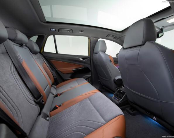 Achterbank Volkswagen ID.4 lease
