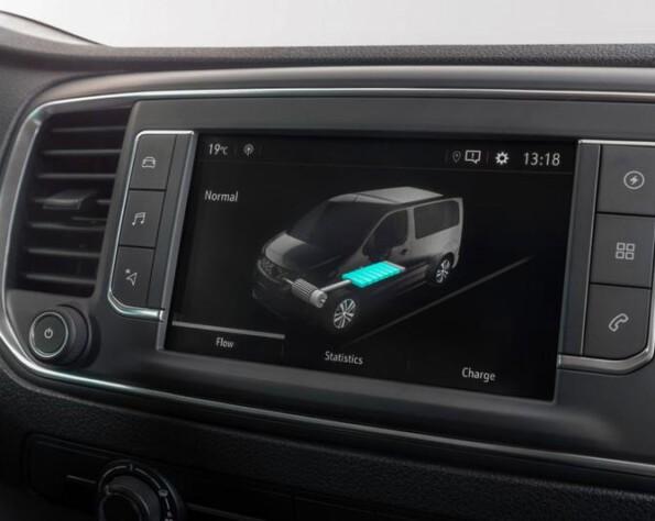 Opel Vivaro-e lease navigatie