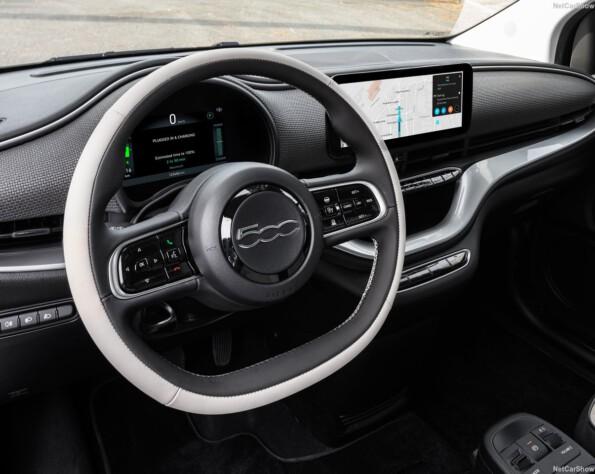 Fiat 500e lease stuurwiel