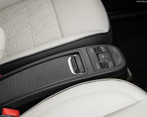Fiat 500e lease interieur middenconsole