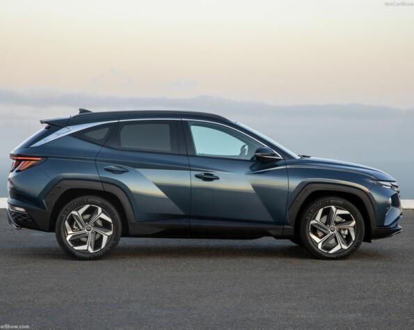 Hyundai tucson lease zijkant links