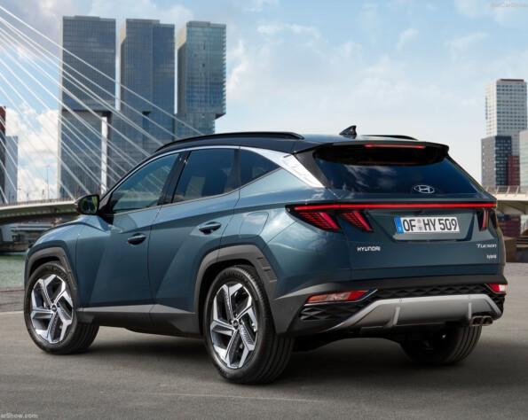 Hyundai tucson lease achterkant