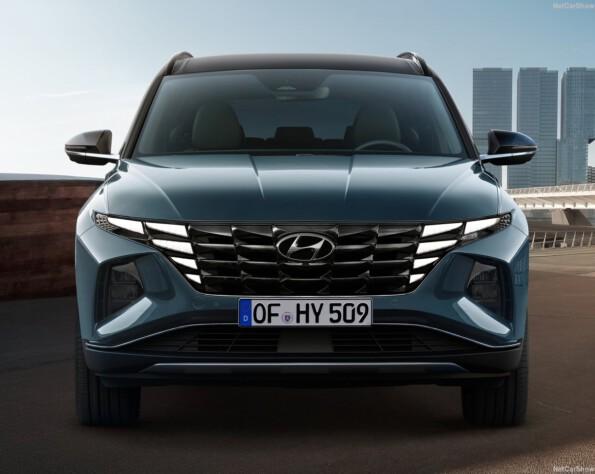 Hyundai tucson lease voorkant