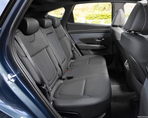 Hyundai tucson lease achterbank