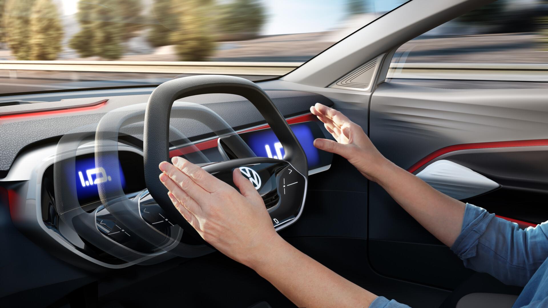 Autonoom rijden stuurwiel