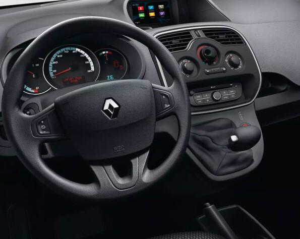 Renault Kangoo ZE lease interieur