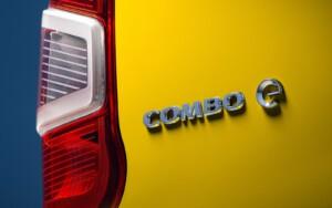 Opel Combo e achterkant