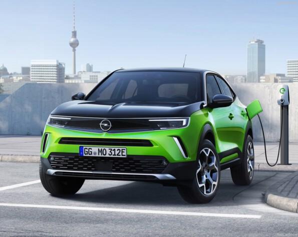 Opel Mokka-e lease voorkant