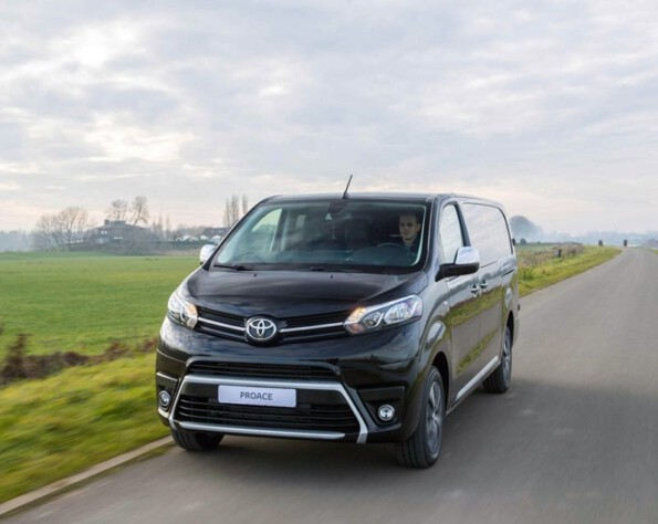Toyota Proace electric lease voorkant