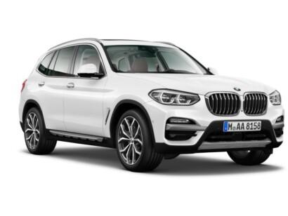 BMW X3 voorkant schuin