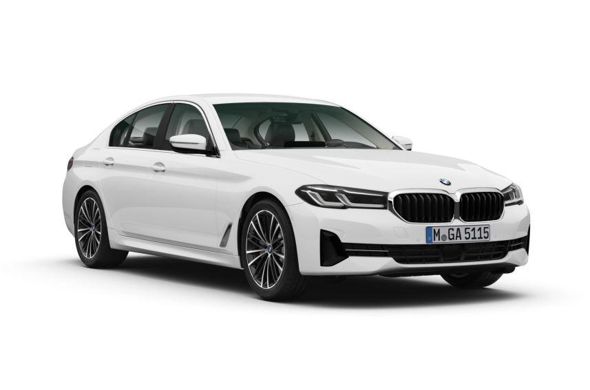 BMW 5-serie voorkant schuin