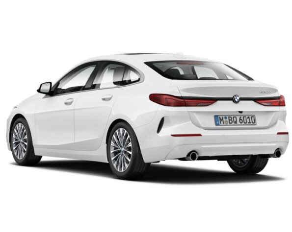 BMW 2 serie Gran Coupé achterkant schuin