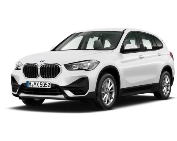 BMW X1 voorkant schuin
