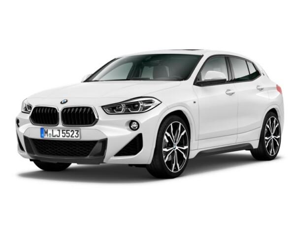 BMW X2 voorkant schuin