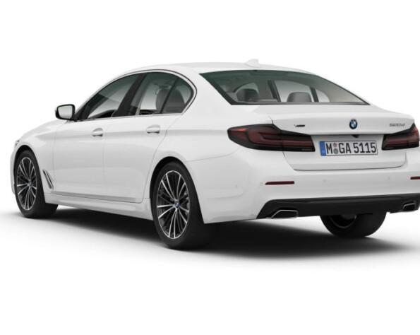 BMW 5-serie achterkant schuin