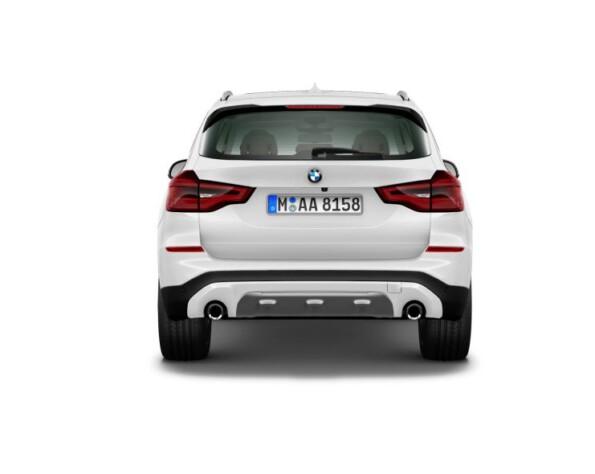 BMW X3 achterkant