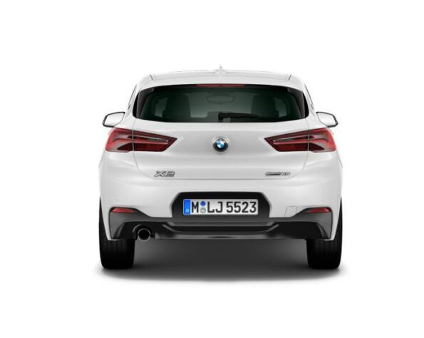 BMW X2 achterkant