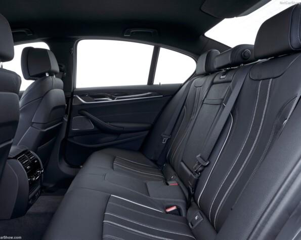 BMW 5-serie achterbank