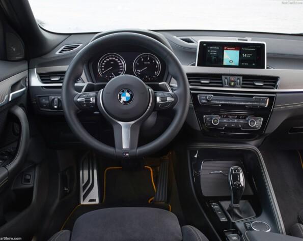 BMW X2 stuurwiel