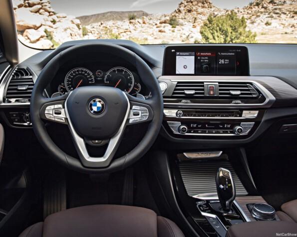 BMW X3 stuurwiel