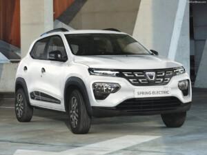 goedkoopste elektrische auto Dacia Spring voorkant