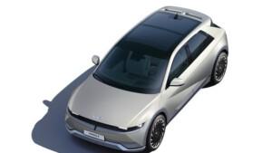 Hyundai Ioniq 5 bovenaanzicht
