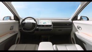 Hyundai Ioniq 5 dashboard