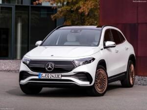 Mercedes EQA voorkant