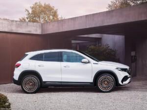 Mercedes SUV zijkant