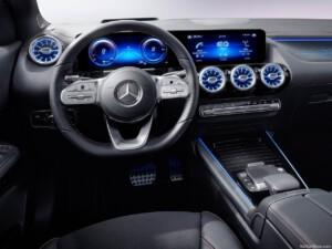 Mercedes EQA stuurwiel