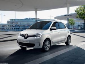 Renault Twingo goedkoopste elektrische auto voorkant
