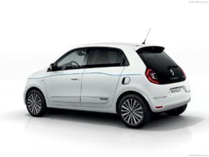 Renault Twingo goedkoopste elektrische auto zijkant