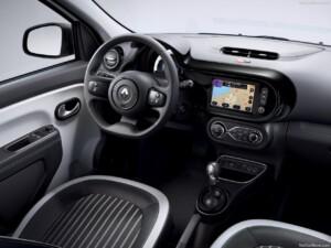Renault Twingo goedkoopste elektrische auto interieur