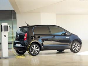 Seat Mii goedkoopste elektrische auto zijkant